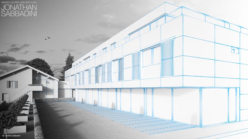 rendering e immagini per architetti - Jonathan Sabbadini, Ticino