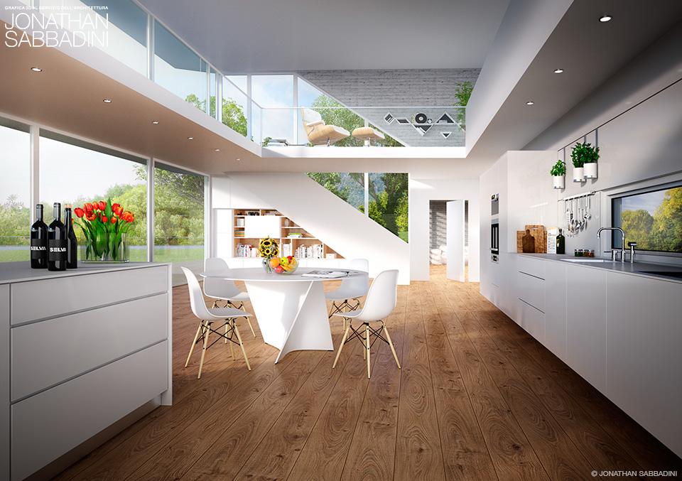 Rendering per architettura e ingegneria jonathan sabbadini for Rendering arredamento